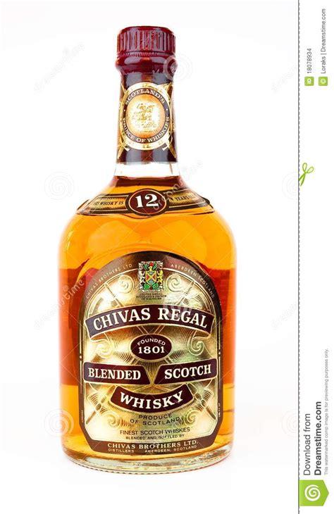 Regal Hängend by Chivas Regal Ha Mescolato Il Whisky Scozzese Immagine