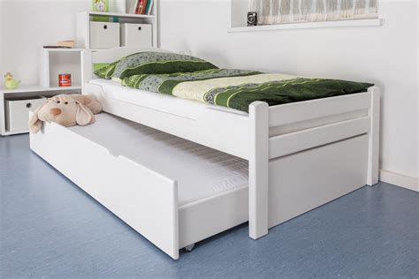 single bed with trundle single bed quot easy sleep quot k1 2h incl trundle bed frame and