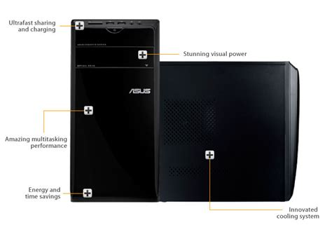 Desktop Pc Asus Cm6730 Id005d asus essentio cm6730 us 2ad desktop desktop