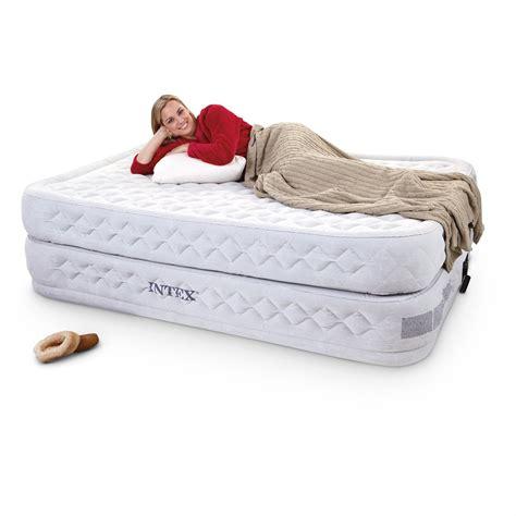 intex supreme air flow twin air bed  air beds