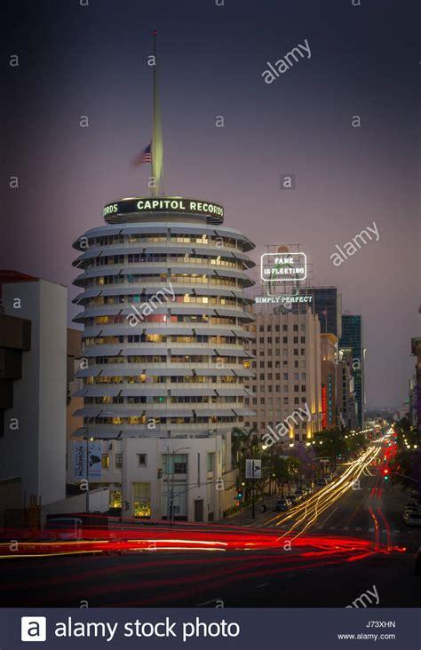 Records Los Angeles Ca Capitol Records Building Los Angeles Stock Photos Capitol Records Building Los