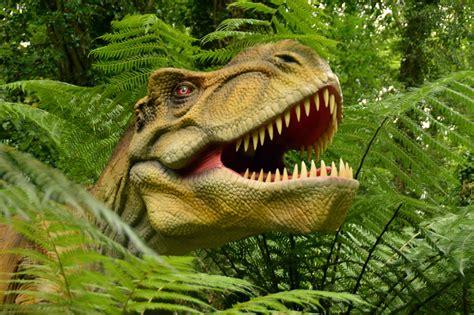 Paultons Park animatronic dinosaurs