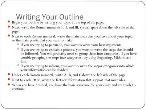 Guide Writing Basic Essay by Basic Guide To Writing An Essay
