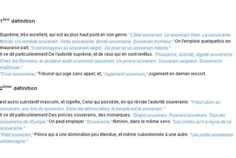 completed definition souverain la d 233 finition