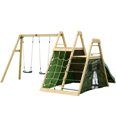 Buy Plum Climbing Pyramid Wooden Climbing Frame With