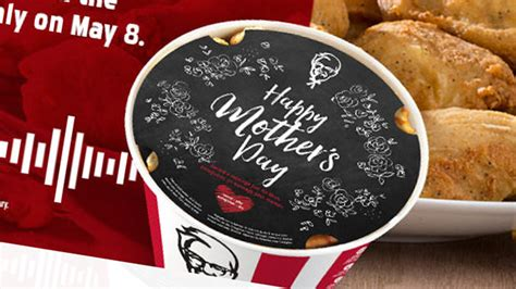 Kfc S Day Kfc Canada S Mother S Day Records Your Message To