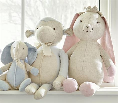 Velvet Newborn Set 8pcs In 1 Value Set Motif Spesial bunny linen and velvet plush pottery barn
