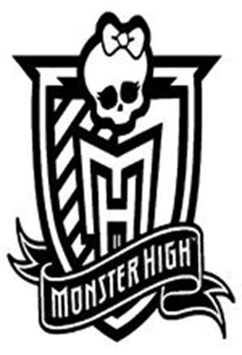 monster high logo coloring pages kids n fun 32 coloring pages of monster high
