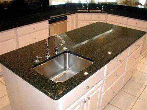 Meja Makan Granit desain meja dapur mewah berbahan granit desain minimalis