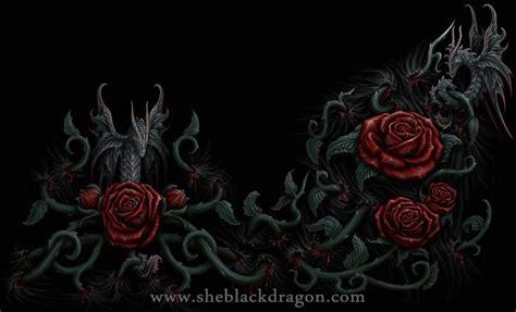 fantasy sheblackdragon