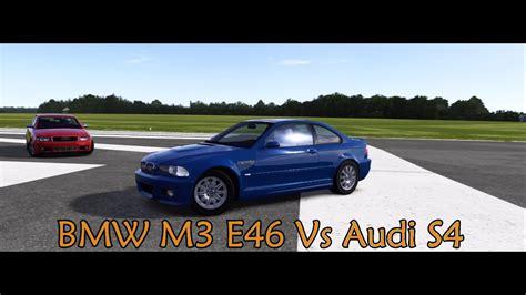 Top Gear Audi S4 Episode by Forza Motorsport 4 Battle S2 E9 Bmw M3 E46 Vs Audi S4