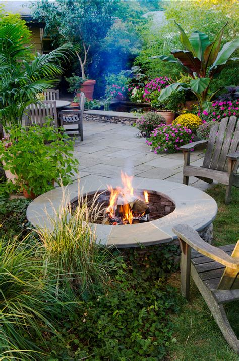 Backyard Landscaping Ideas With Pit by Triyae Backyard Pit Ideas Landscaping Various