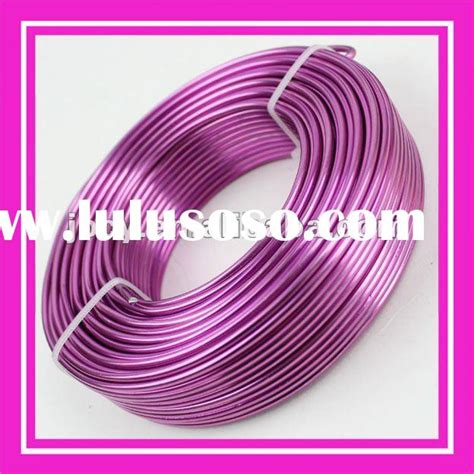 colored wire for jewelry colored aluminum wire for jewelry for sale price china
