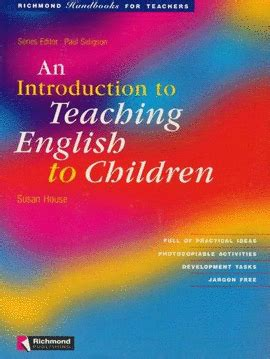 libro an introduction to english an introduction to teaching english to children librer 237 a cient 237 fica