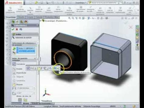 tutorial solidworks pdf 2013 tutorial 2 ensamblajes solidworks 2013 youtube