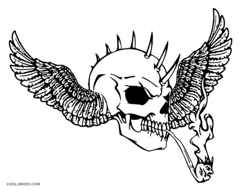 skull coloring sheets evil skulls colouring pages