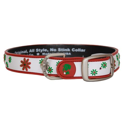 waterproof collars dublin waterproof collar daze poinsettia punch pet365 co uk