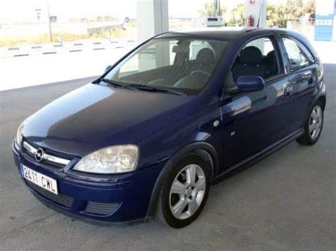 opel corsa 2004 blue used car costa blanca spain second cars available