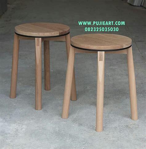 Kursi Kayu Bulat kursi cafe bulat model kursi cafe bulat gambar kursi