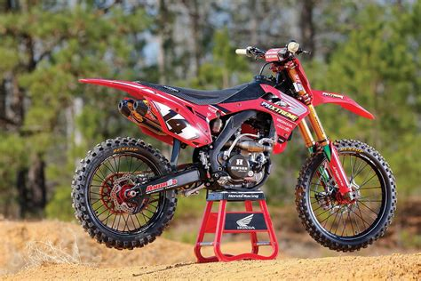 honda crf 250 mxa tests a 53 000 honda crf250 project bike motocross