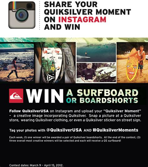 Instagram Giveaway Rules - quiksilver moments instagram giveaway quiksilver