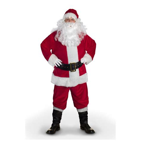 printable santa outfit sunnywood value santa claus costume 229151 costumes at
