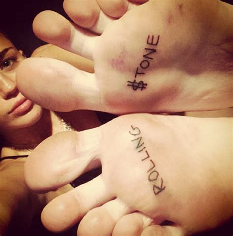 tattoo feet instagram are new nude miley cyrus pictures real twitter users