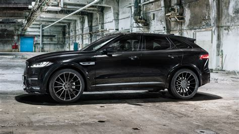 jaguar f pace blacked out jaguar f pace tuning