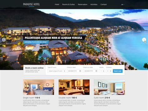 free templates for resort website free hotel web template vekt 246 r grafiği 365psd com