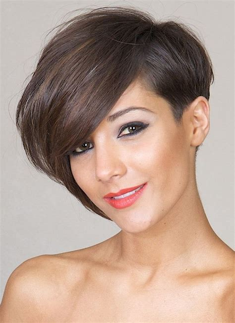 bob haircuts that cut shorter on one side 30 latest short hairstyles for winter 2018 best winter