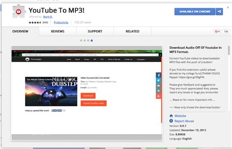 download mp3 from youtube video chrome extraer audio mp3 de videos de youtube en chrome alvaro