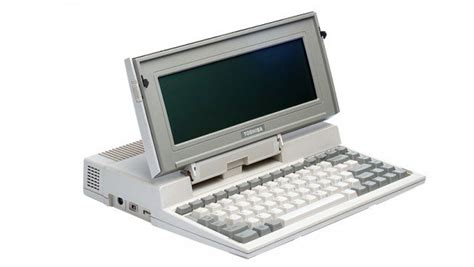 laptop in the world was made by toshiba more than 30 years ago
