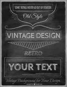 retro poster template vintage poster template vector free