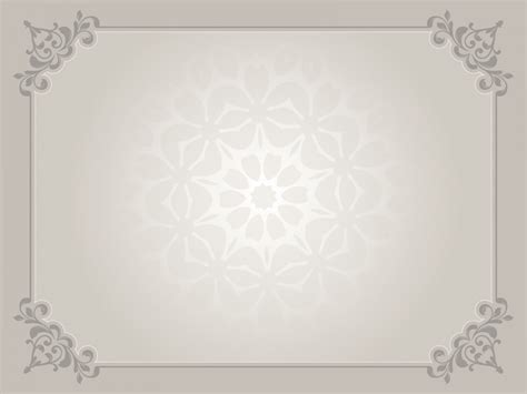 Brown Oldish Frame Backgrounds Border Frames Brown Grey Pattern Templates Free Ppt Powerpoint Border Templates