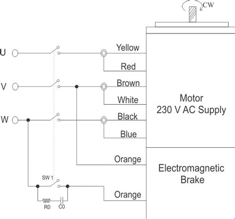 25 watt electromagnetic brake motor and gear motor