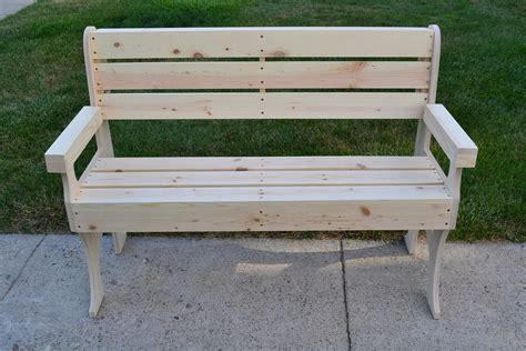 wood park bench wooden park bench poole sons inc