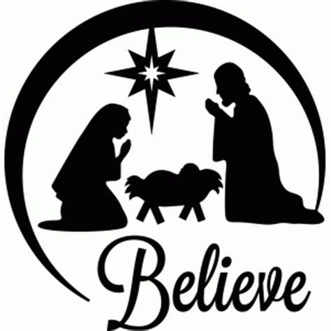 silhouette nativity templates calendar template 2016