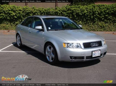 Audi A4 2005 by 2005 Audi A4 Silver 200 Interior And Exterior Images