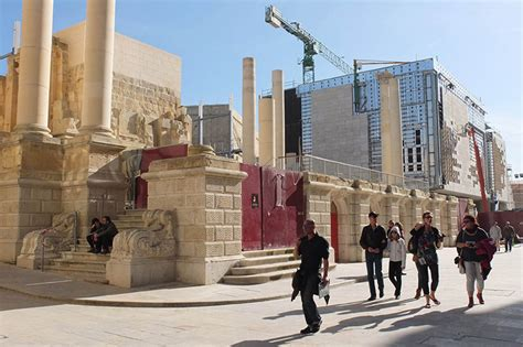 renzo piano valletta city gate  parliament  underway