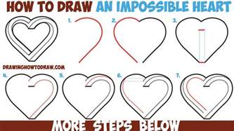 doodle drawing lessons how to draw an impossible easy step by step