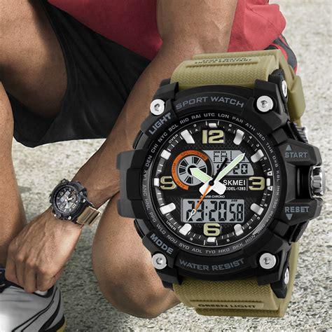 Skmei Jam Tangan Digital Analog Pria 1283 skmei jam tangan digital analog pria 1283 black jakartanotebook