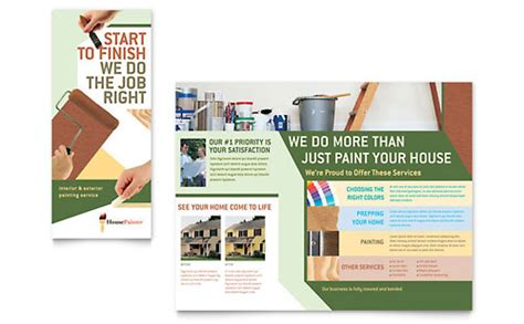 illustrator templates brochures flyers stocklayouts
