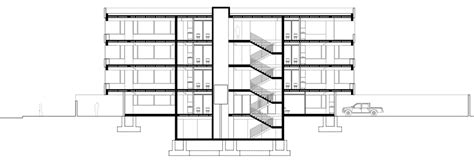 office block floor plans umwelt bases boxy office block in southern chile on le
