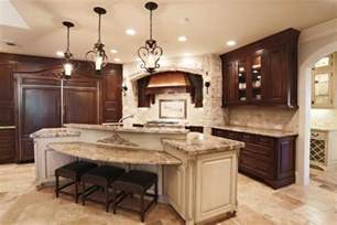 Kitchen Island With Stove And Seating 18 Kitchen Islands With Seating In Traditional Style