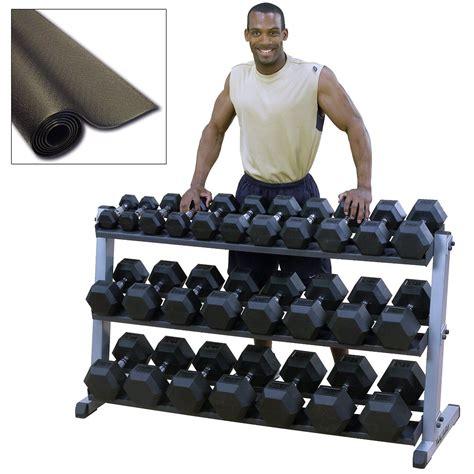 Dumbbell Rack Set by Heavy Duty Dumbbell Set With Rack 187 Fitness Gizmos