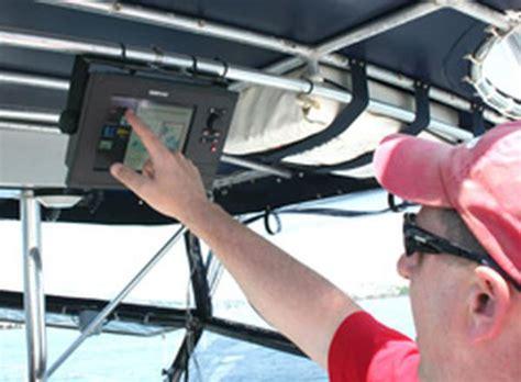 small boat gps plotter simrad gears chart plotters toward small boats pontoon