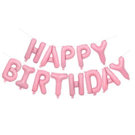 imágenes de rosas de happy birthday girlande deko set name m 228 dchen rosa kindergeburtstag jga