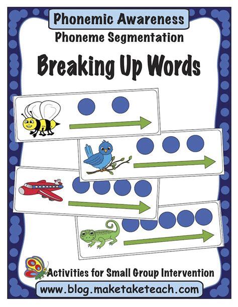 kindergarten activities phonemic awareness phonemic awareness the ability to hear and manipulate the