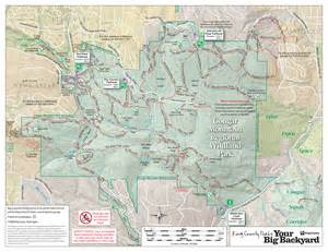 map mountain map mountain park trail map mountain regional