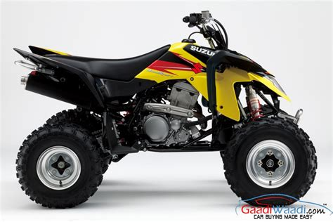 Suzuki Atv Suzuki Launches Atv S In India Bearing 250cc And 400cc